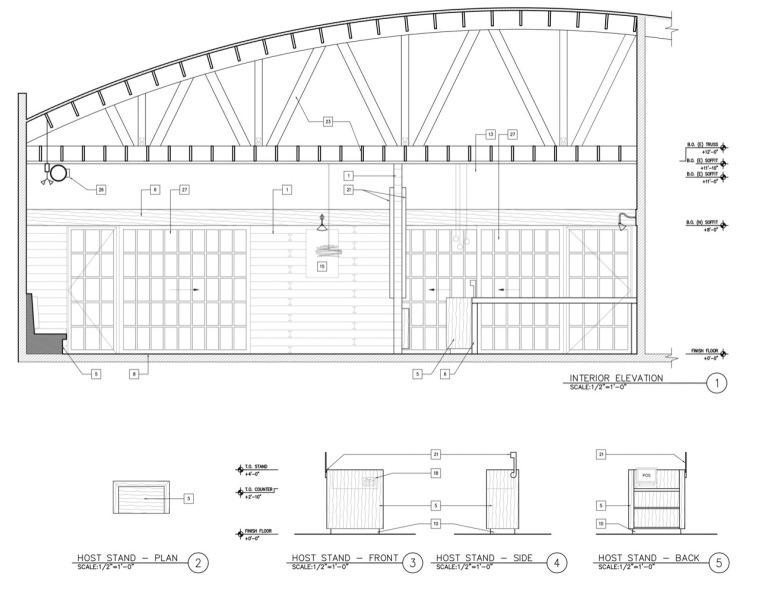 剖面图04 section04-曼哈顿海岸邮局餐厅第20张图片