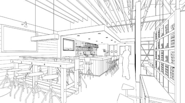 透视图03 perspective03-曼哈顿海岸邮局餐厅第25张图片