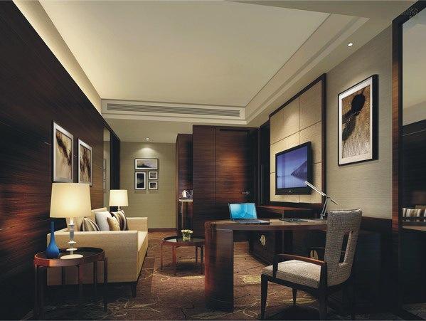 行政套房客厅-福州凯旋酒店第4张图片