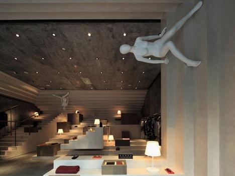 建筑设计工作室3Gatti设计的Alter Store 第1张图片