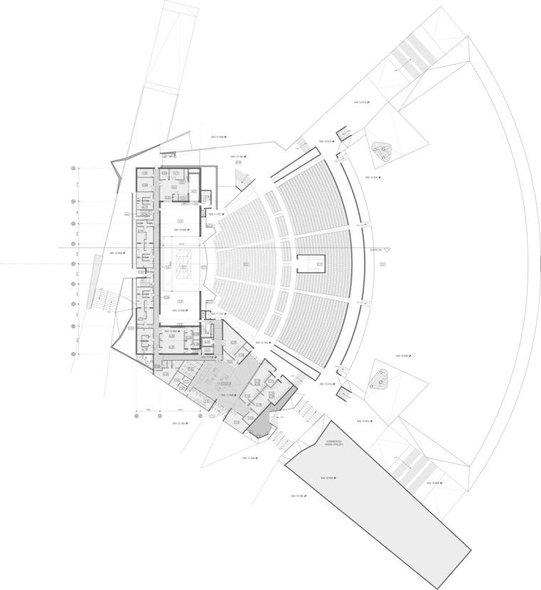 平面图01 plan01-Tois-Rivières大剧场第2张图片