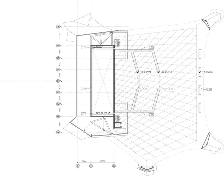 平面图02 plan02-Tois-Rivières大剧场第3张图片