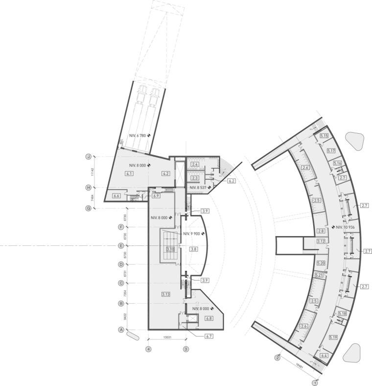 平面图05 plan05-Tois-Rivières大剧场第6张图片