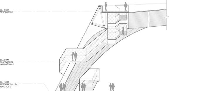 剖面图02 section02-Tois-Rivières大剧场第8张图片
