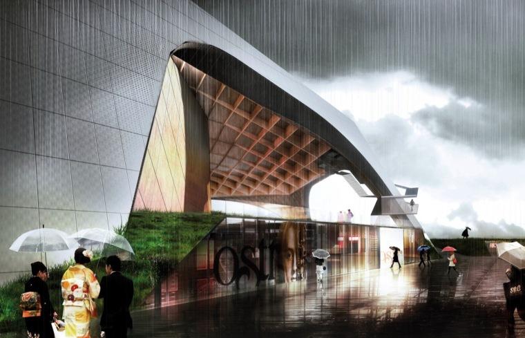渲染01 rendering01-Tois-Rivières大剧场第9张图片