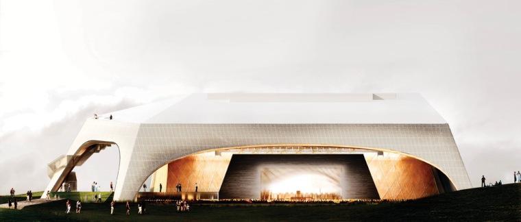 渲染02 rendering02-Tois-Rivières大剧场第10张图片