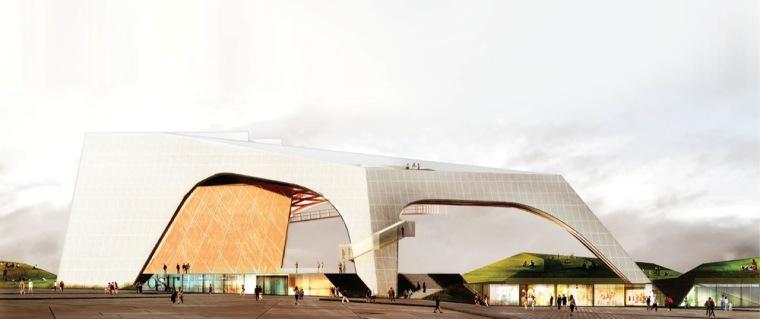 渲染04 rendering04-Tois-Rivières大剧场第12张图片