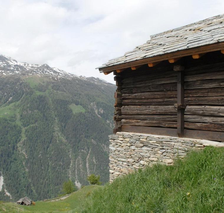 瑞士阿尔卑斯山住宅第8张图片