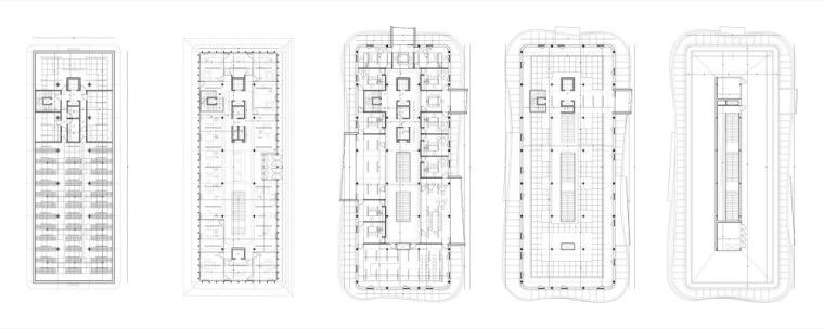 平面图01 Plans01-诺艾恩市政大厅第4张图片
