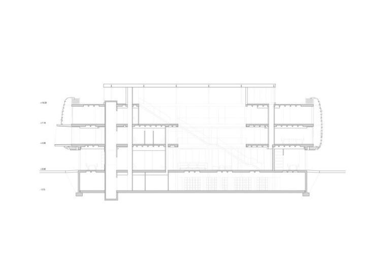 剖面图01 Section01-诺艾恩市政大厅第6张图片