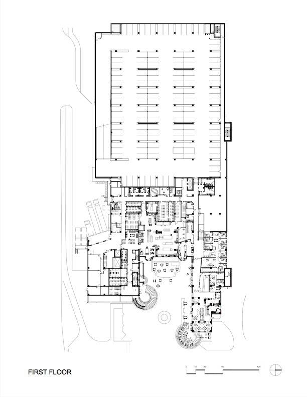 平面图03 plan03-科罗拉多大学社区中心第16张图片