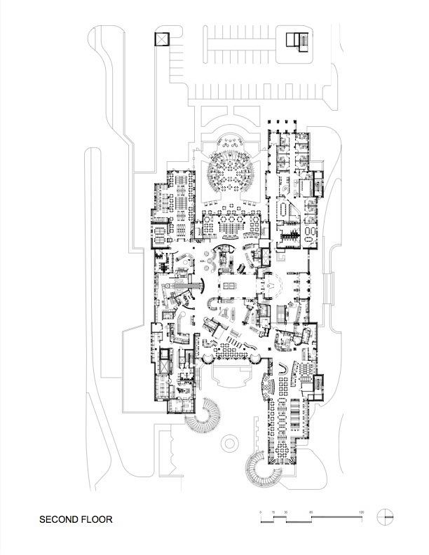 平面图04 plan04-科罗拉多大学社区中心第17张图片