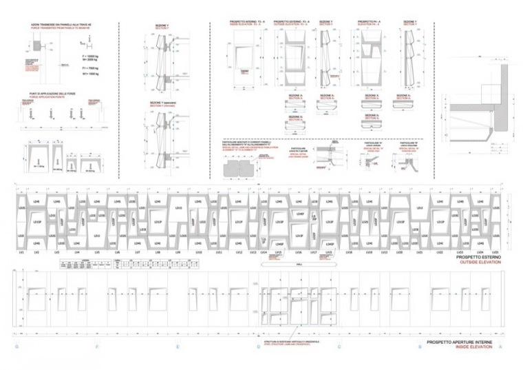 立面图细节 Facade Details-诺拉办公楼第22张图片