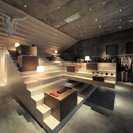 1-建筑设计工作室3Gatti设计的Alter Store 第2张图片