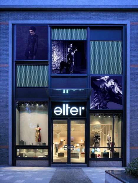 建筑设计工作室3Gatti设计的Alter Store 第16张图片