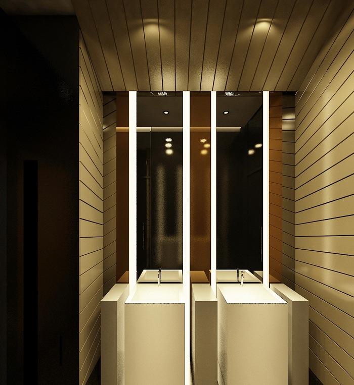 卫生间设计效果图-海德集团包头售楼处第12张图片