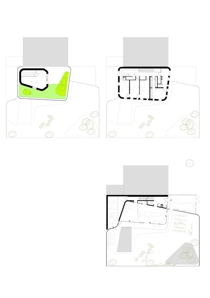 平面图 Plan-Wohnzimmer住宅第14张图片