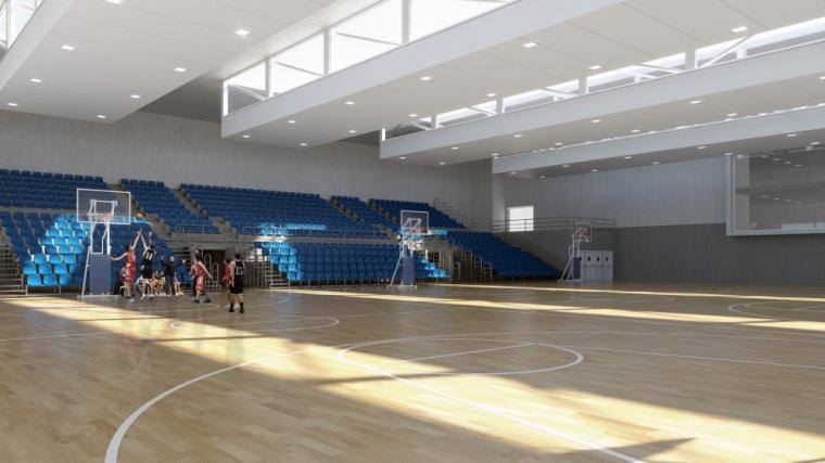 多功能体育场 multi-sports cour-Vallehermoso体育中心第2张图片