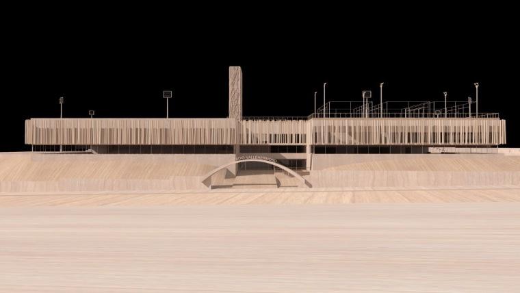 拱道模型 archway model-Vallehermoso体育中心第3张图片