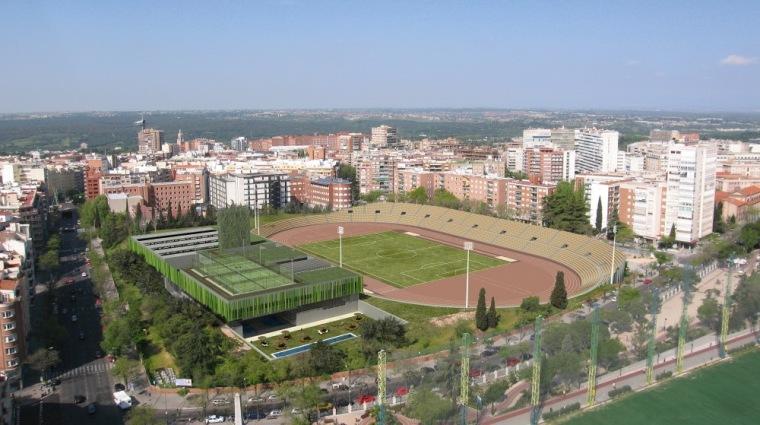 鸟瞰图01 aerial view 01-Vallehermoso体育中心第6张图片