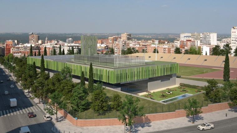日间街景 day street view-Vallehermoso体育中心第10张图片
