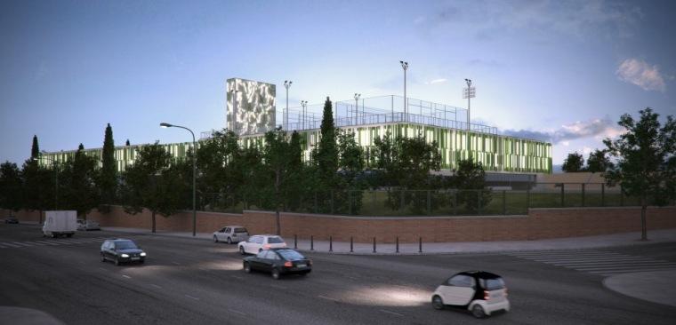夜间街景 night street view-Vallehermoso体育中心第12张图片