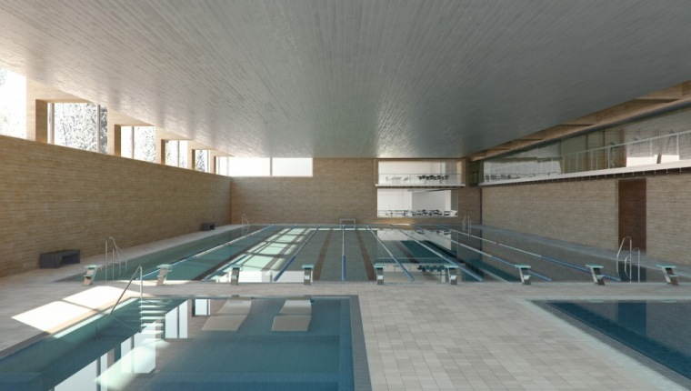 泳池 pool-Vallehermoso体育中心第14张图片