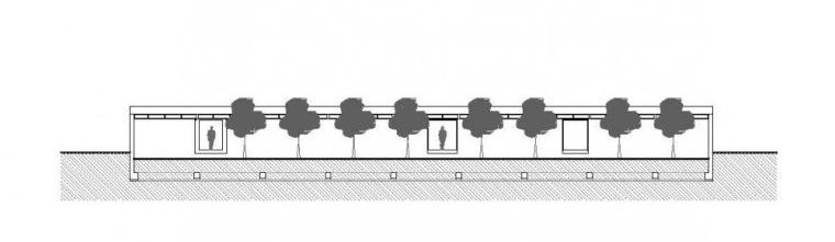 立面图01 Elevation01-查纳幼儿园第7张图片