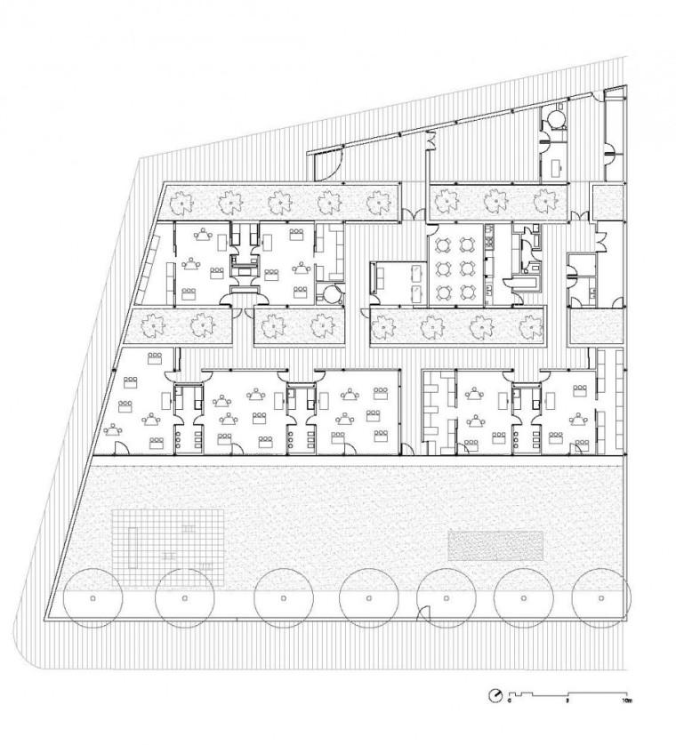 平面图 Plan-查纳幼儿园第9张图片