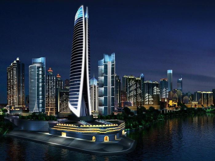 重庆渝中半岛夜景照明方案设计