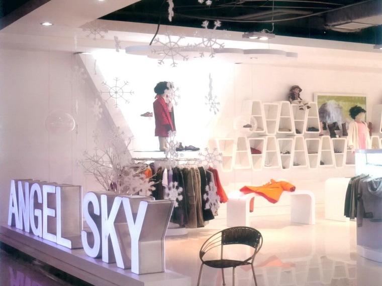 ANGEL SKY童装展厅办公室