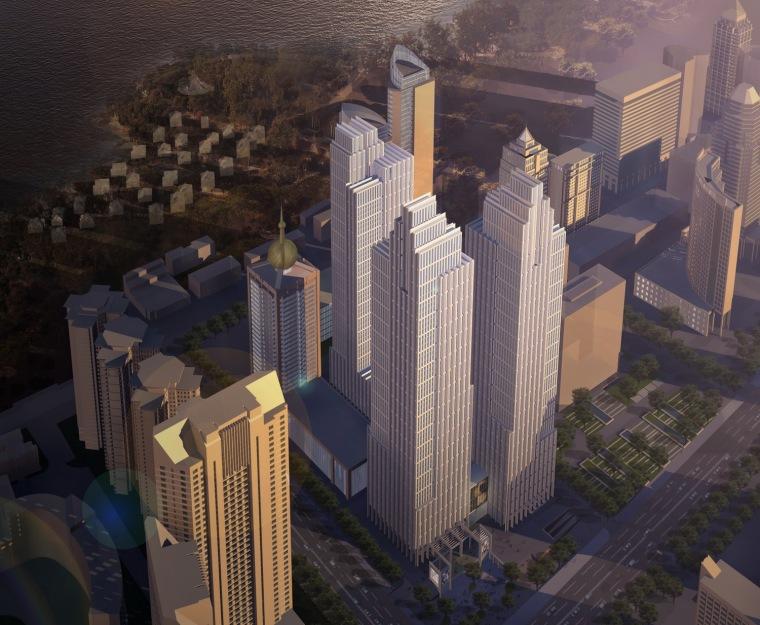 [论文]青岛国际贸易中心结构设计