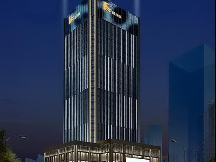 福建省交通集团物流大厦夜景照明专项设计