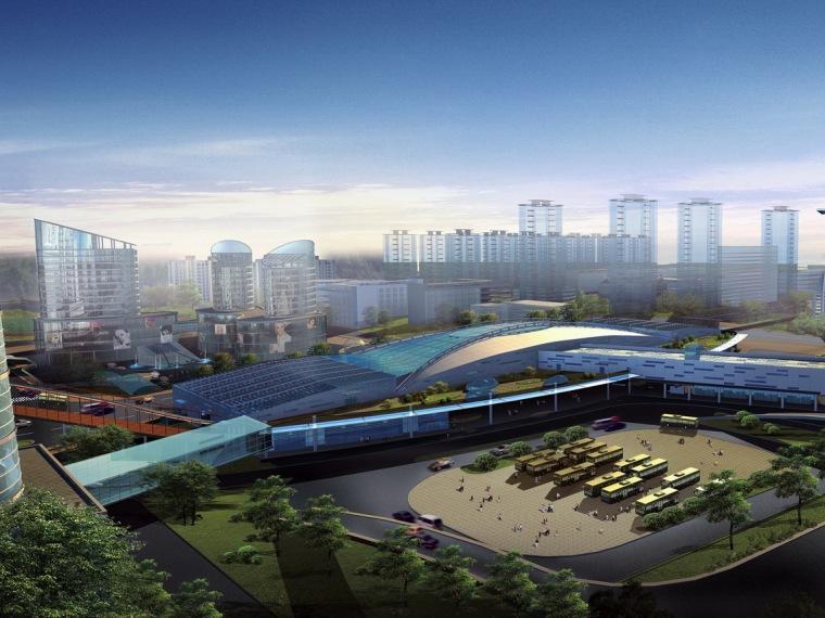北京苹果园交通枢纽商务区规划设计