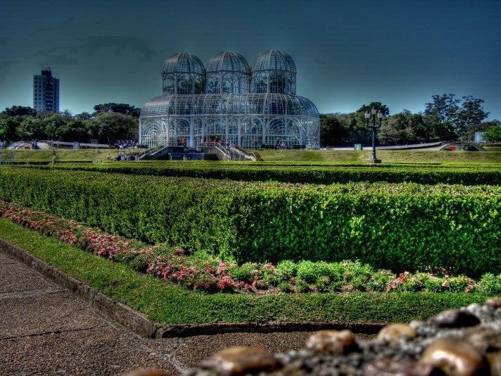 巴西库里提巴植物园