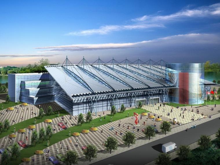 上海国际农产品交易中心规划设计