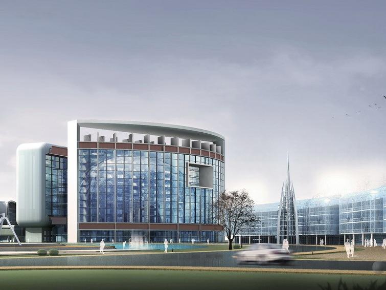 上海张江研究生联合培训基地规划设计