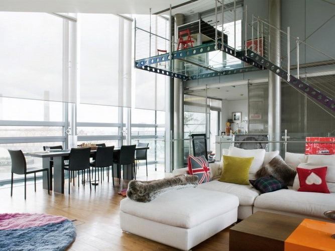 索诺马顶层复式住宅