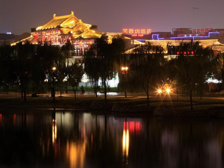 UGC电影城-贝尔西资料下载-西安大唐不夜城——绝美的盛唐画卷