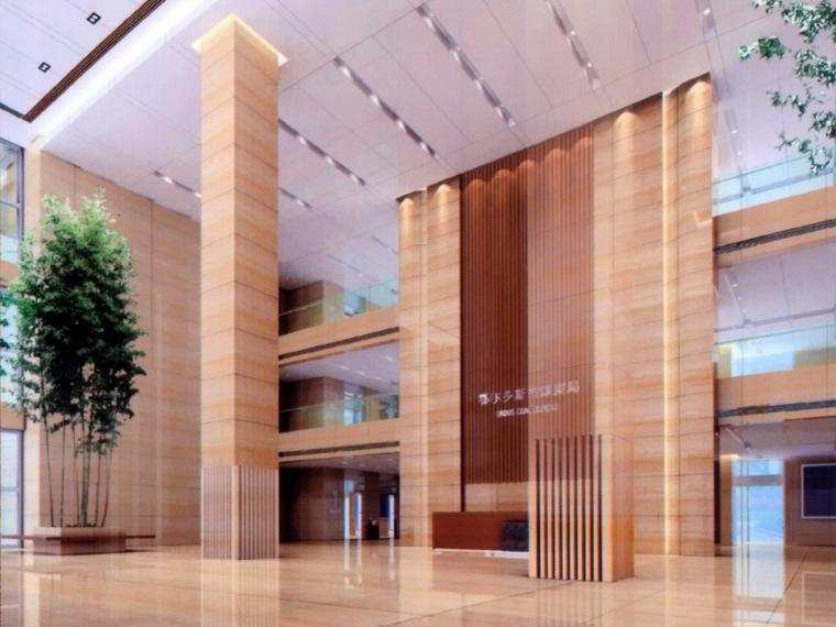 鄂尔多斯市煤炭局--煤炭大厦室内设计方案