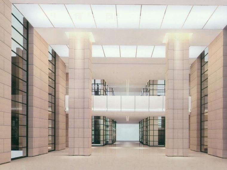 宁波市某区政府办公用房装修工程设计方案