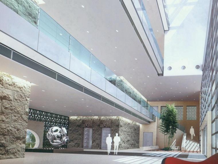 新华社湖南分社办公大楼室内设计