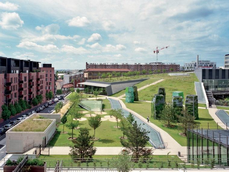新型商业住宅区