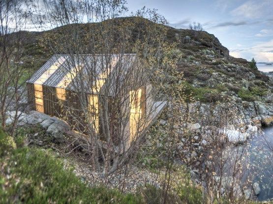挪威鲁姆斯达尔的aure kommune渔屋