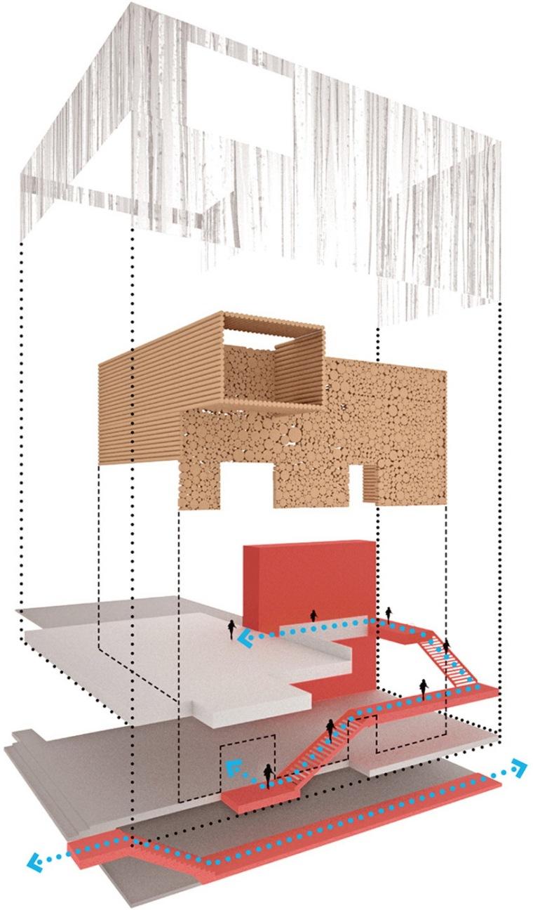 金柏艺术中心设计方案第12张图片