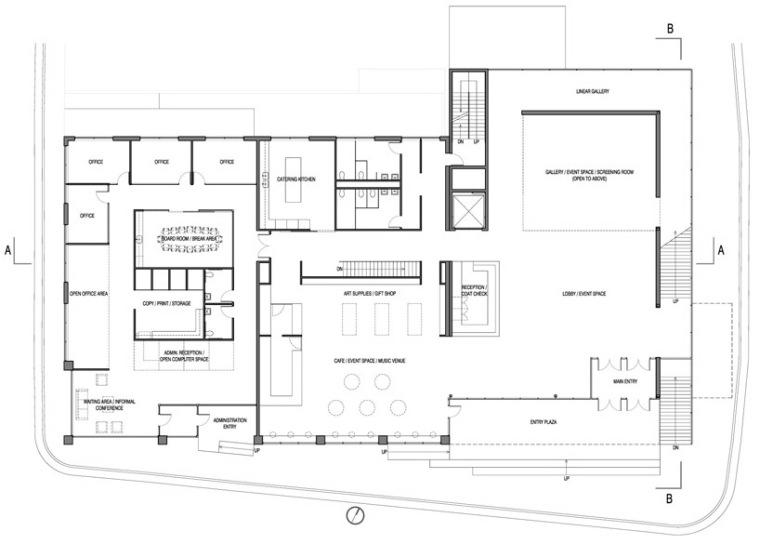 金柏艺术中心设计方案第15张图片