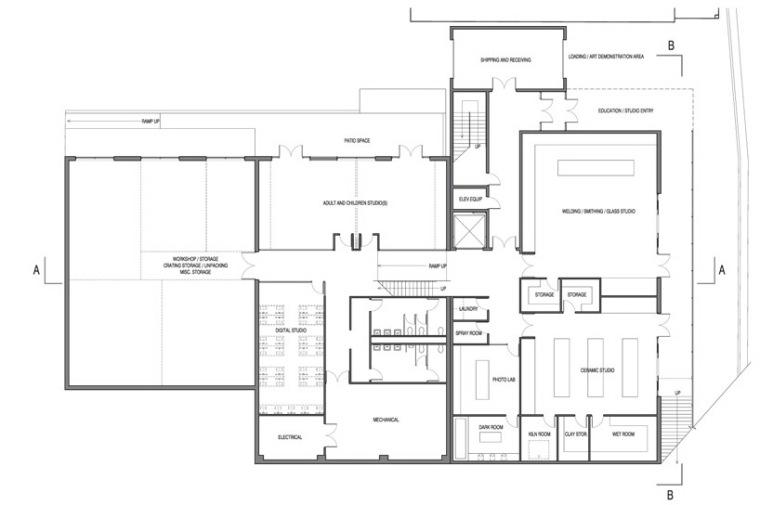 金柏艺术中心设计方案第16张图片