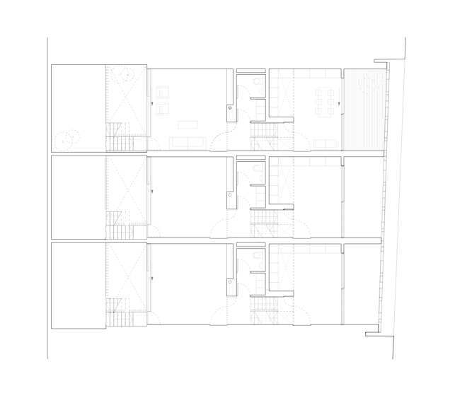 二层平面图 first floor plan-密欧住宅第2张图片