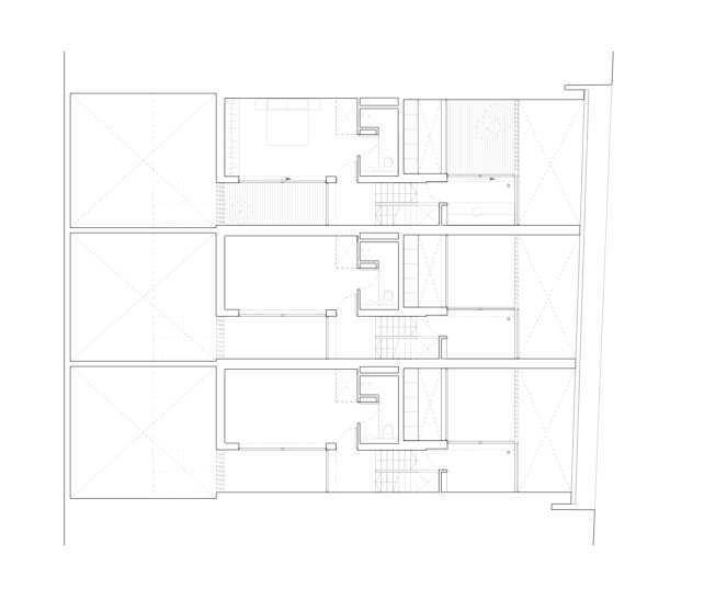 三层平面图 second floor plan-密欧住宅第7张图片