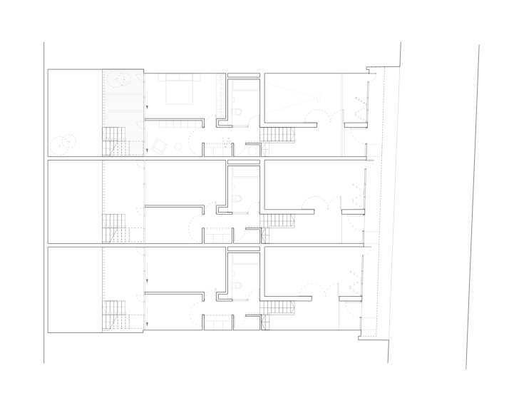 首层平面图 ground floor plan-密欧住宅第8张图片